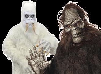 Bigfoot Kostuums