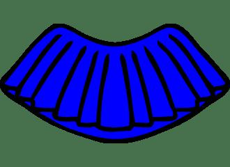 Blauwe Tutu's