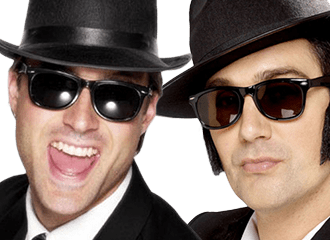 Blues Brothers Kostuums