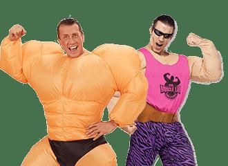 Bodybuilder Kostuum