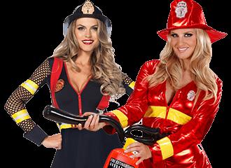 Brandweervrouw Kostuums