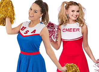Cheerleader Kostuums