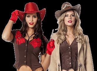 Cowgirl Kostuums