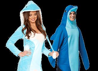 Dolfijn Kostuums