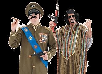 Gaddafi Outfits