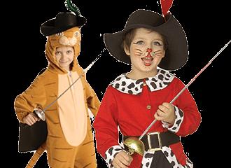 Gelaarsde Kat Kostuums