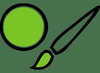 Groene Schmink