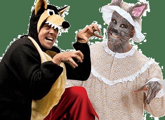 Grote Boze Wolf Kostuums