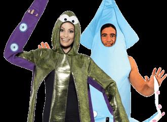 Inktvis Kostuums