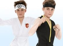 Karate Kid outfit