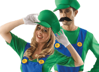 Luigi Kostuums
