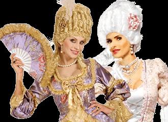 Marie Antoinette Kostuums