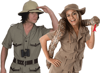 Ontdekkingsreiziger Kostuums