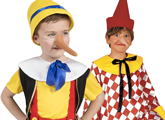 Pinokkio Kostuum