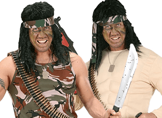 Rambo Kostuums