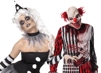 Scary Clown Outfits