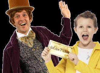 Sjakie & De Chocoladefabriek Kostuums