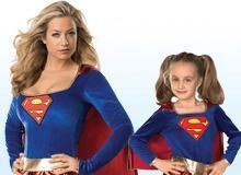 Superwoman & Supergirl Kostuum