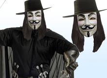 V For Vendetta Kostuums