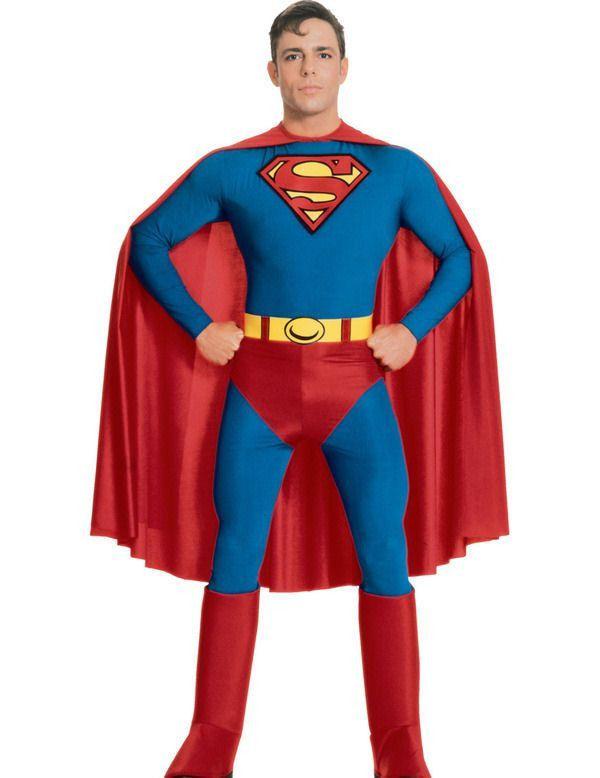 Superman Superheld Man Kostuum