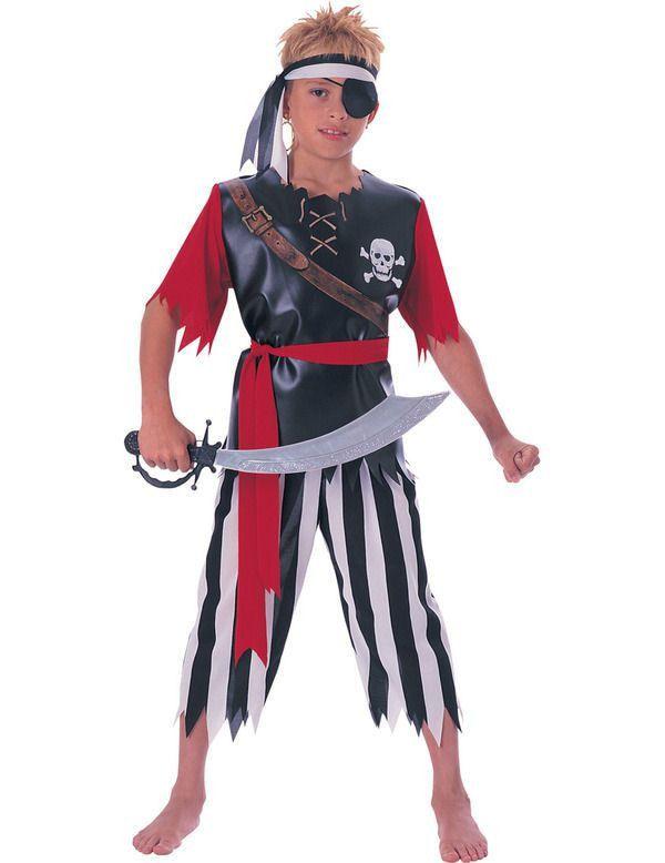 Basic Piratenkoning Jongen Kostuum