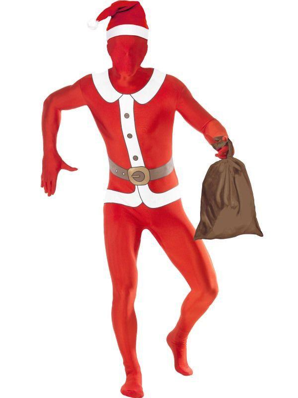 Santa Claus Second Skin Pak Met Gulp En Opening Bij Nek Man
