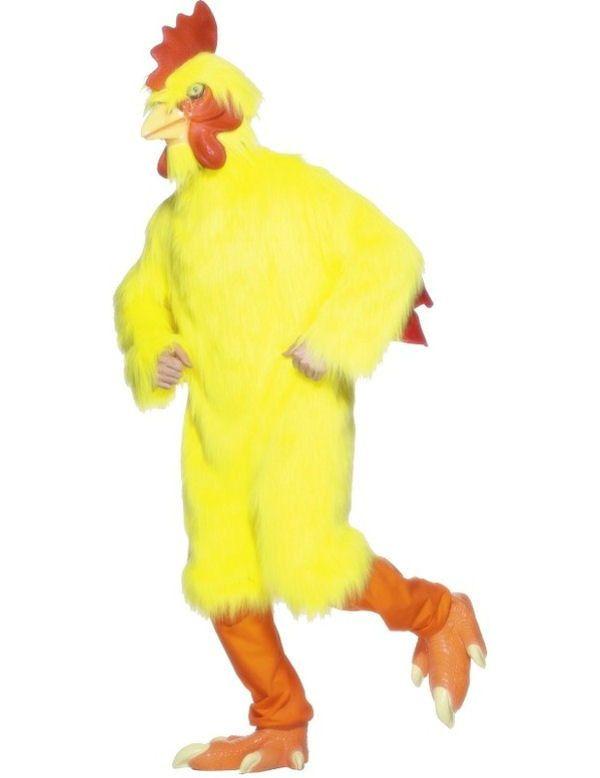 Grappige Kip Volwassen Kostuum Man