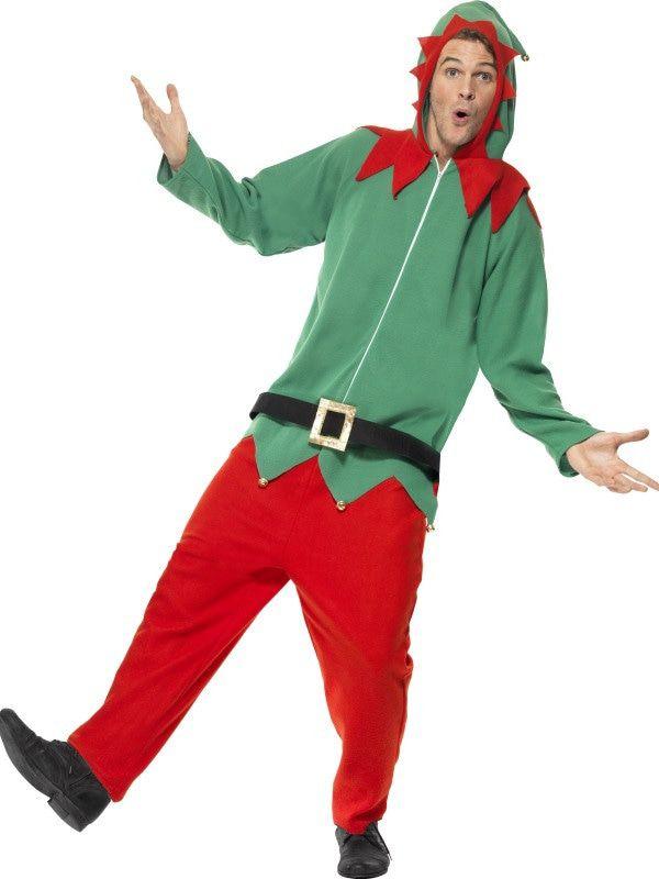 Santas Helper Elf Kostuum Man