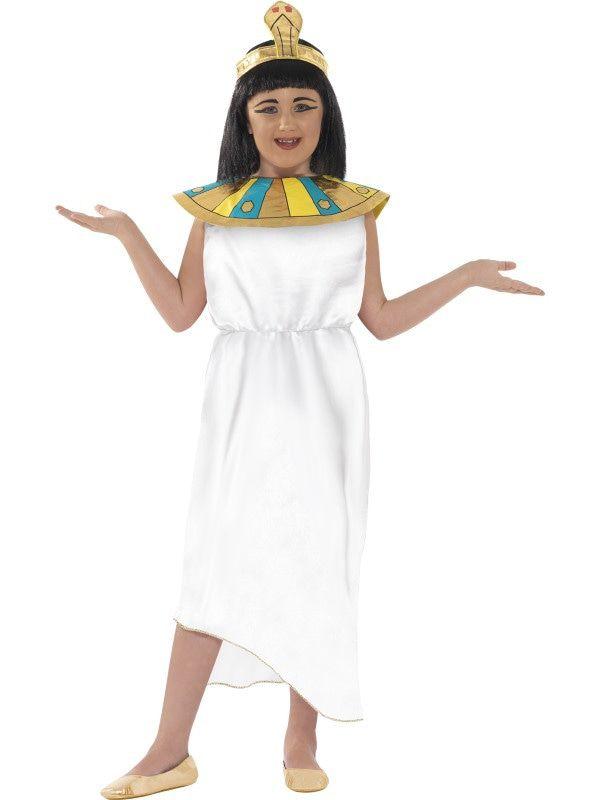 Horrible Histories Cleopatra De Egyptische Dame Meisje Kostuum