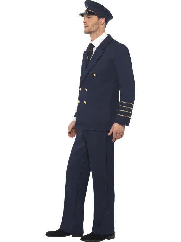 Moderne Piloot Boeing Man Kostuum