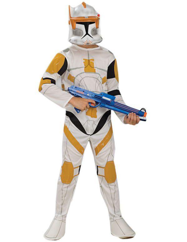 Star Wars Clone Trooper Commander Cody Jongen Kostuum