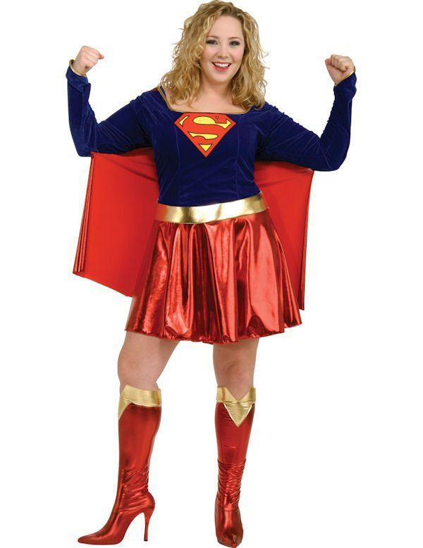 Supergirl Sexy Superheld Maatje Meer Vrouw Kostuum