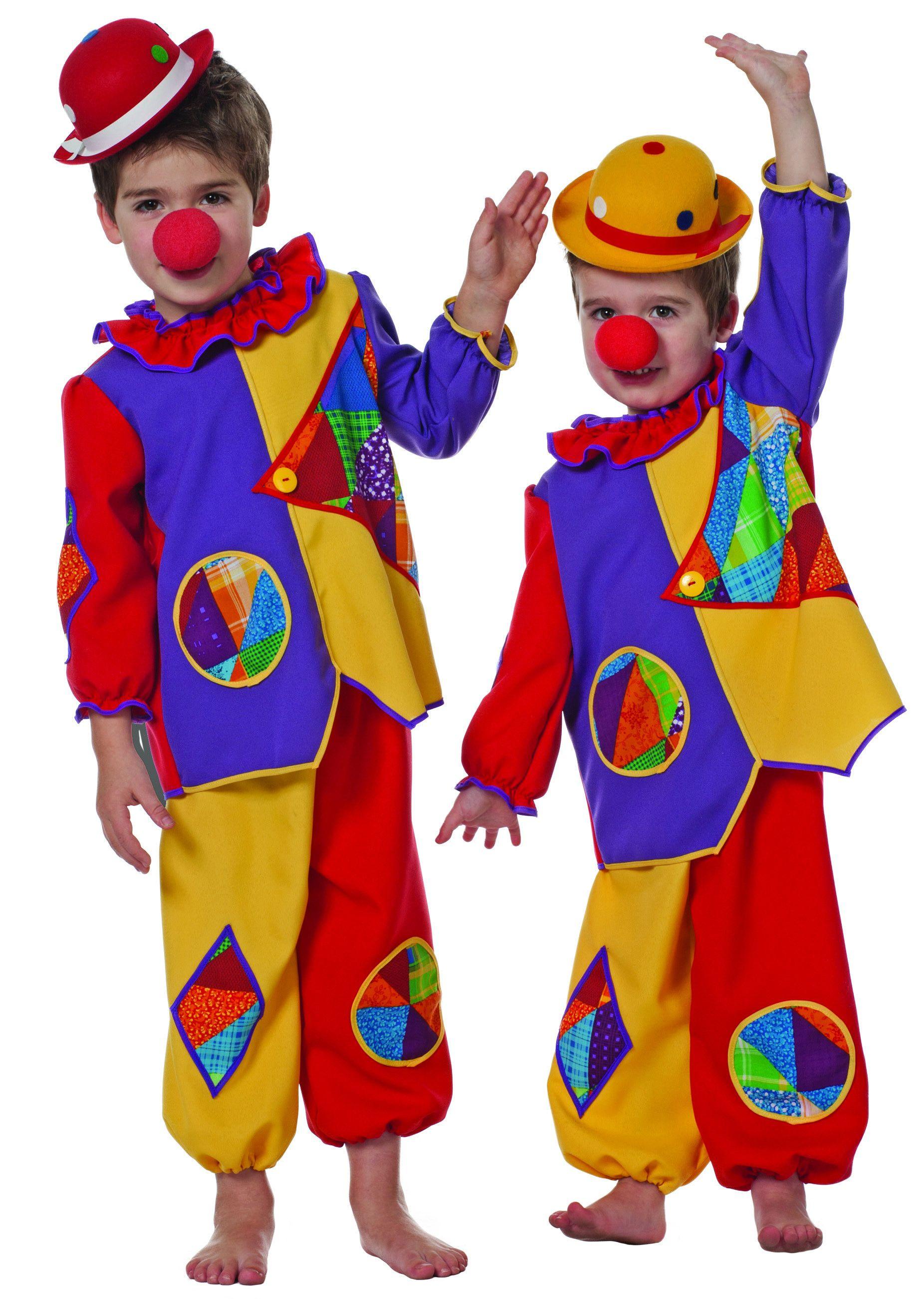 Schattig Baby Clowntje Kind Kostuum