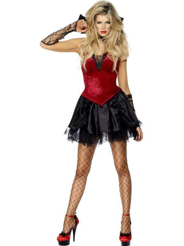 Aantrekkelijke Vampier Vrouw Kostuum