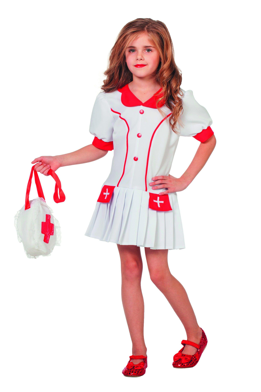 Verpleegster Juffrouw Lisanne Meisje Kostuum