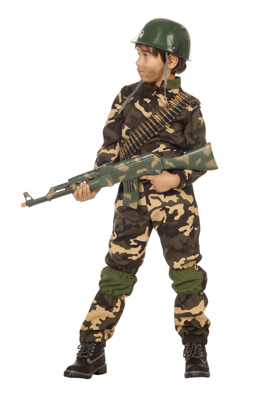 Desert Storm Commando Jongen Kostuum
