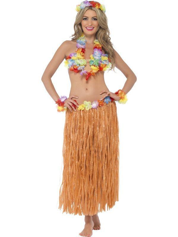Hawaii Verkleed Set Vrouw Kostuum