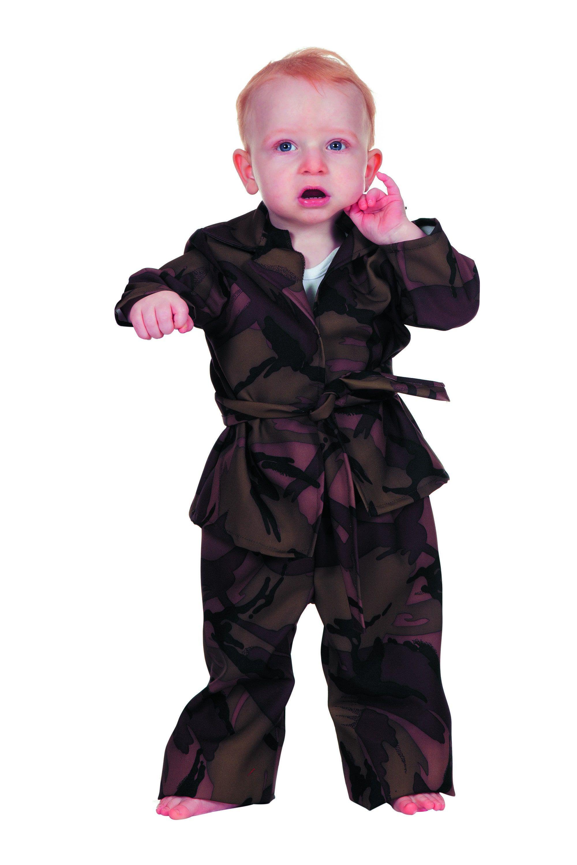 Army-Baby Camouflage Groen (Baby) Jongen Kostuum