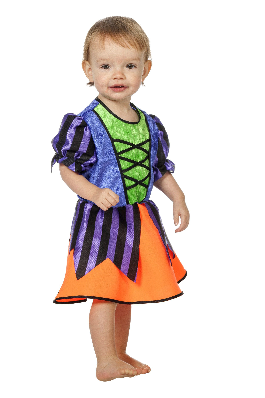 Kleurig En Lief Heksje ( Baby) Kind Kostuum