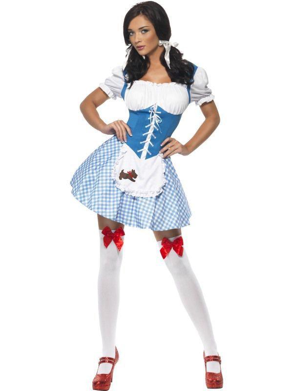 Spannende Amerikaanse Kansas Dame Vrouw Kostuum