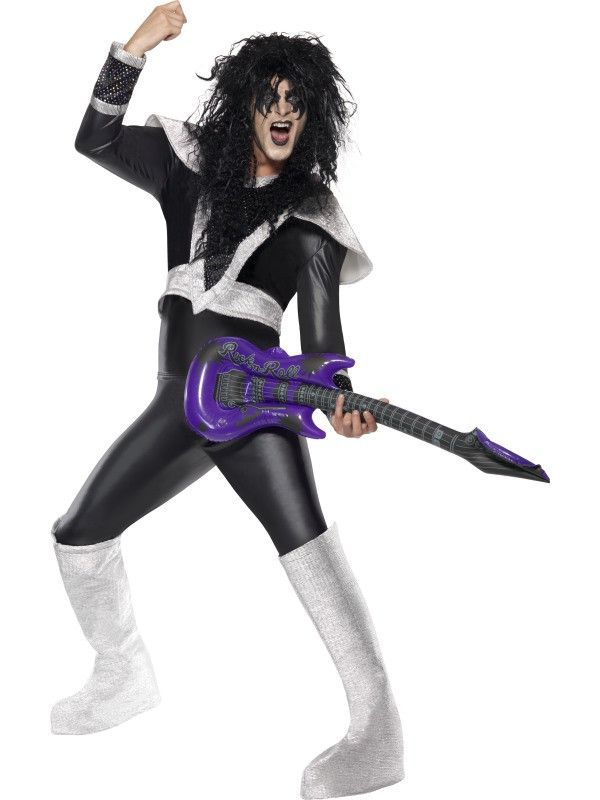 Glam Rocker Kiss Man Kostuum
