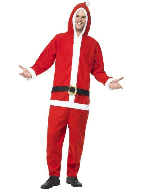 Hoodie Santa Claus Man Kostuum