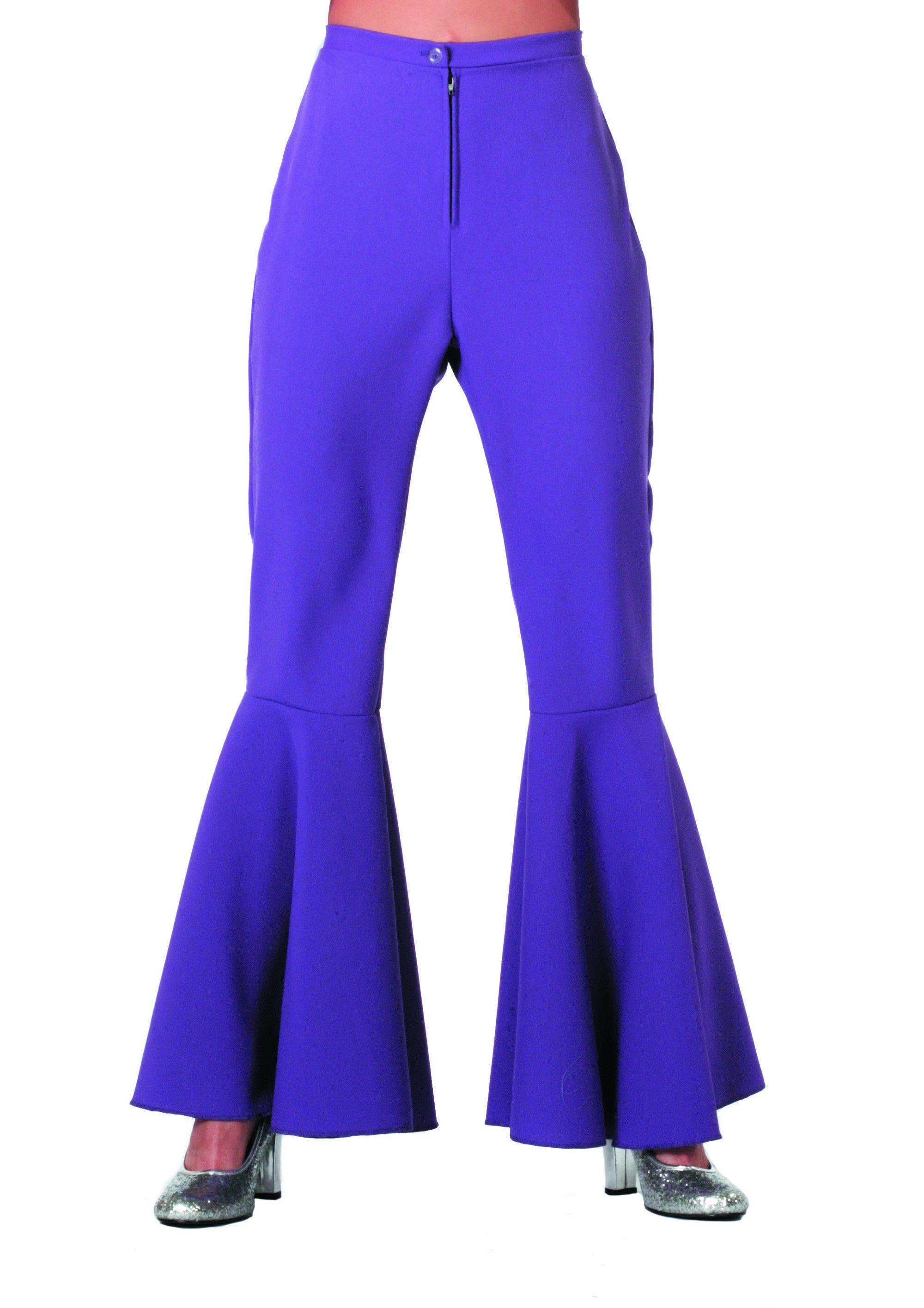 Dancing Purple Hippie Broek Bi-Stretch