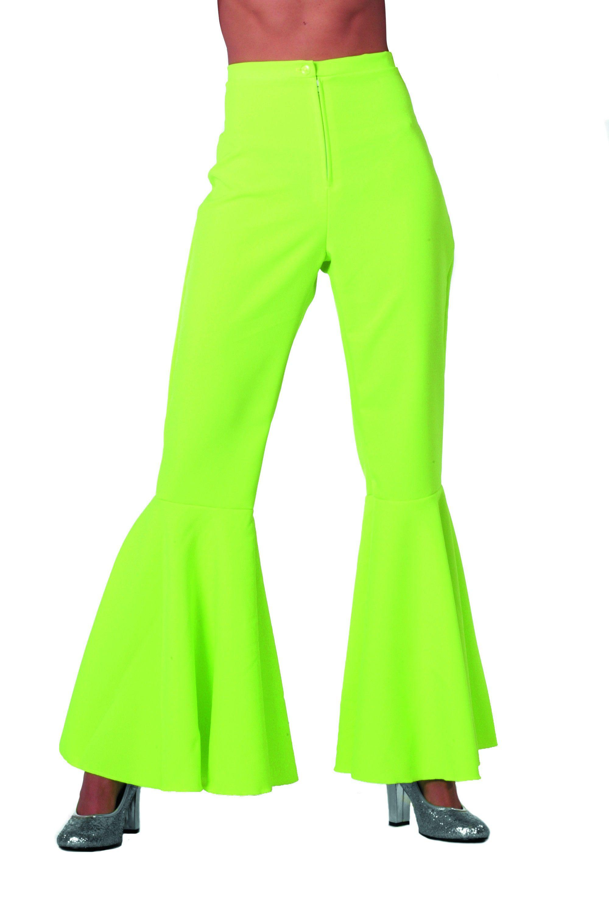 Dancing Green Hippie Broek Bi-Stretch