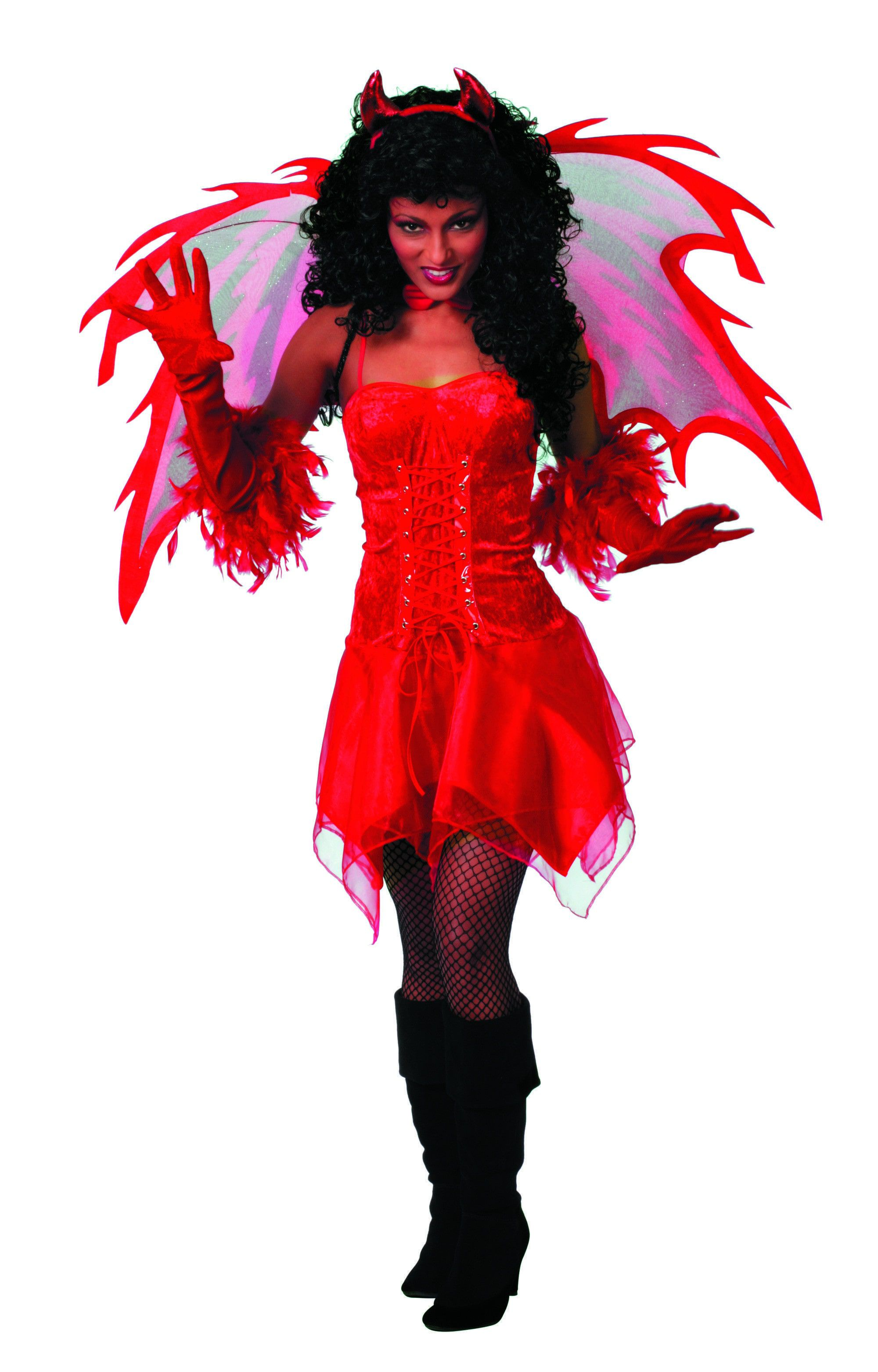 Rode Engel / Duivel Vrouw Kostuum