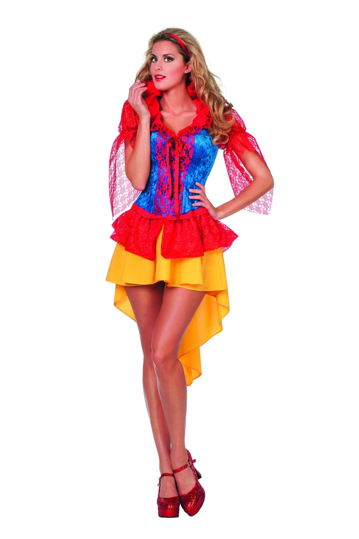 Sprookjesprinses Traditioneel En Sexy Vrouw Kostuum