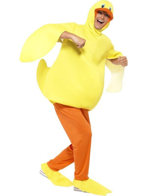 Gele Badeend Kostuum