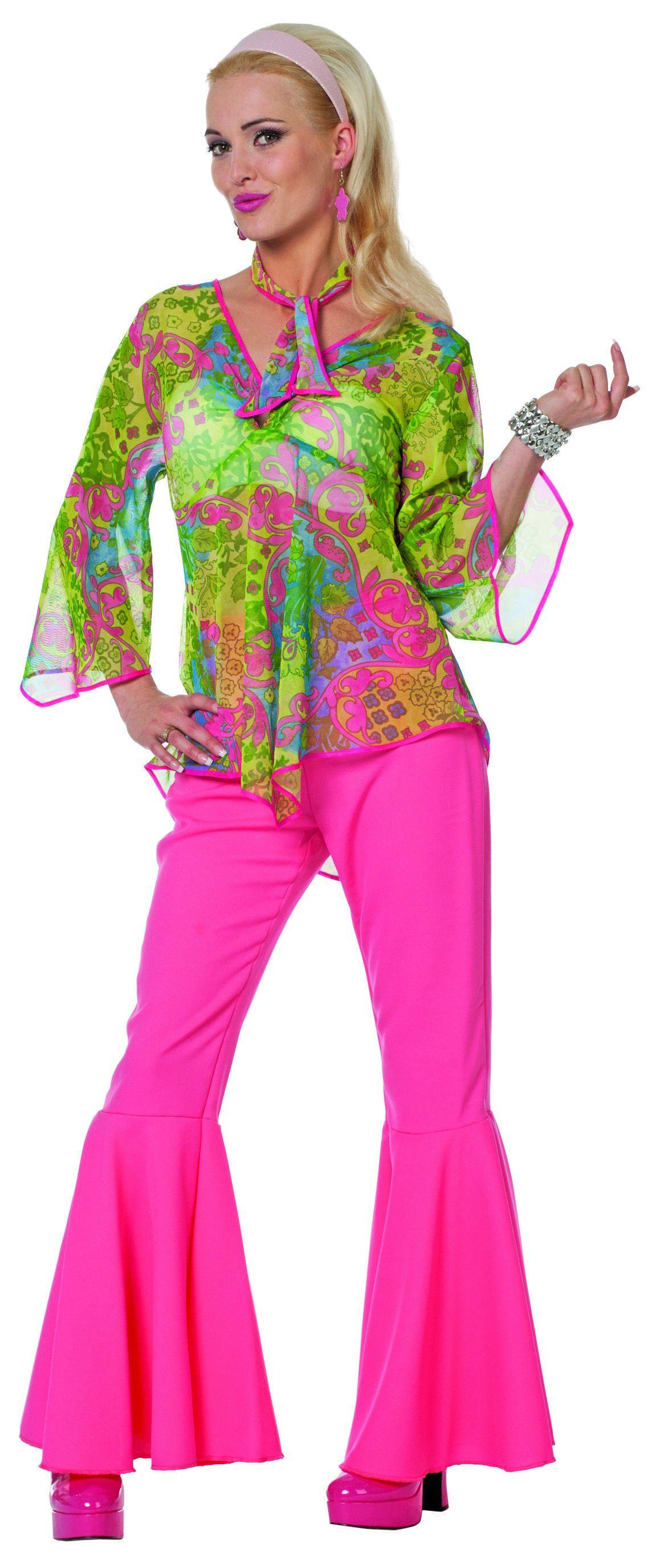 Stealing The Show Hippy Twirl ( Met Broek) Vrouw Kostuum