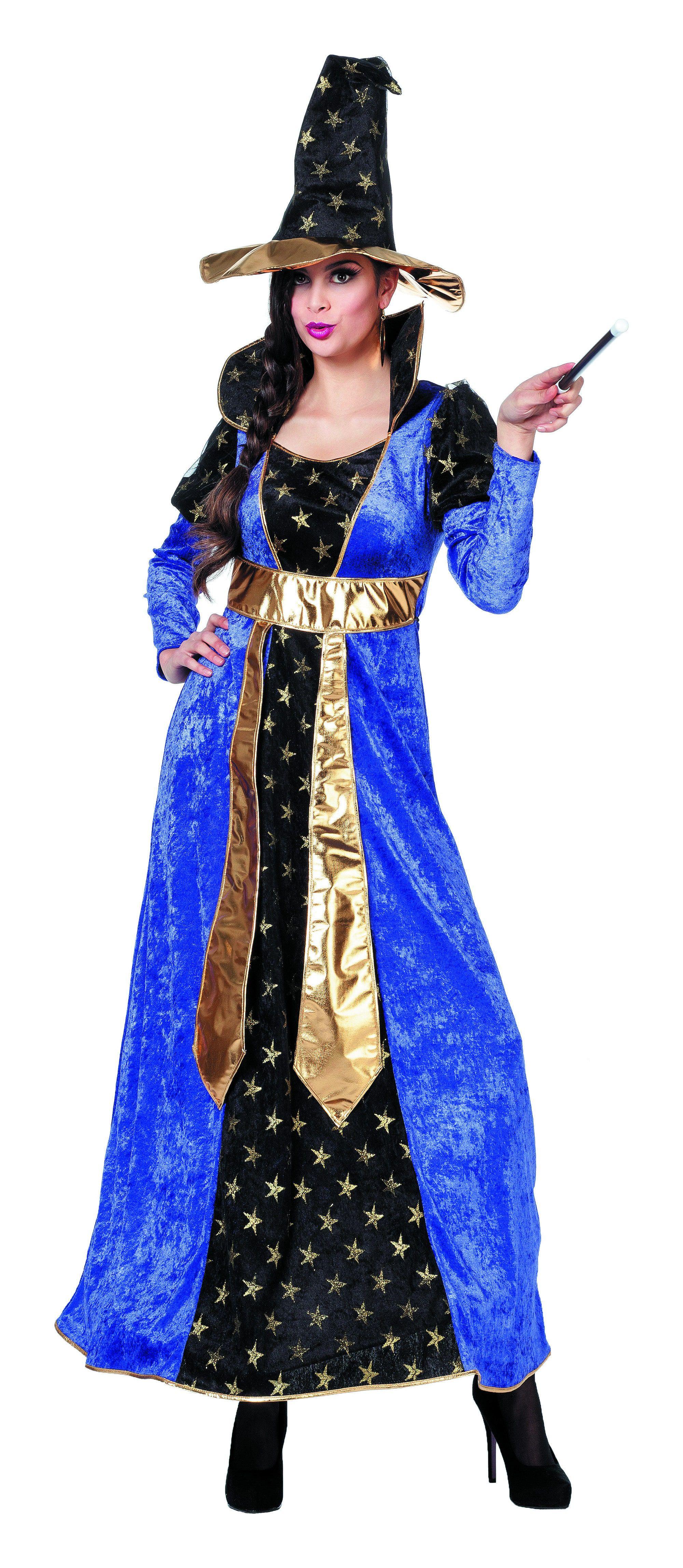 Spell-On-You Tovenaarsdame Met Hoed Vrouw Kostuum