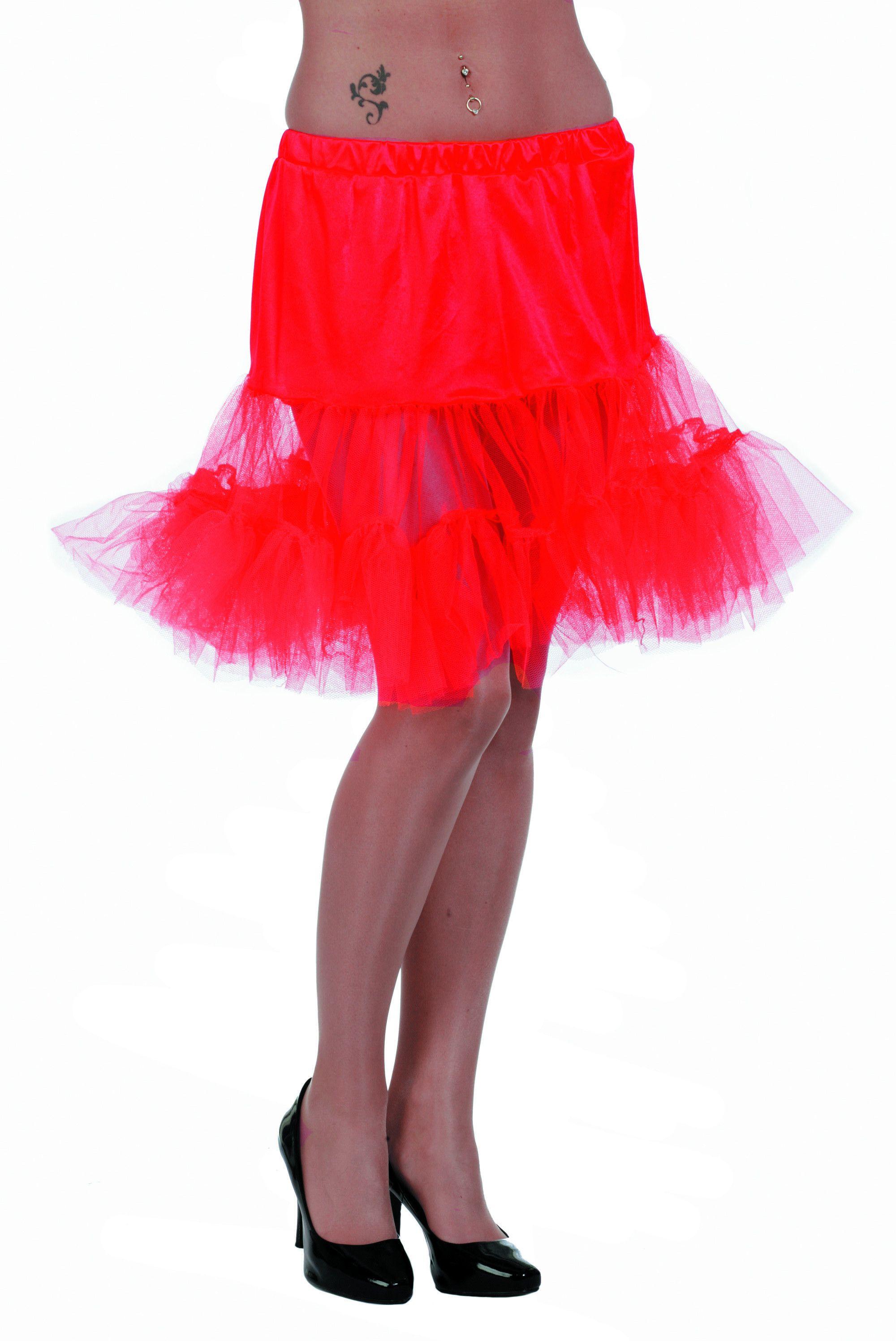 Rode Petticoat (Lang)
